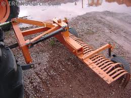 Kubota B26 W 6 York Rake Astro Rents Construction