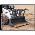 Bobcat Skidsteer W/ Grapple Bucket