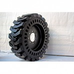 Bobcat Skid Steer Solid Foam Filled Tires Set of 4