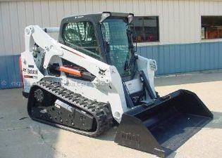 Bobcat T650 Track Skid Steer - Astro Rents - Construction